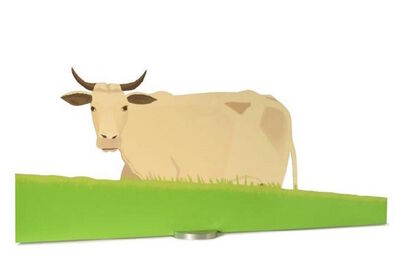 Alex Katz, 'Cow', 2004