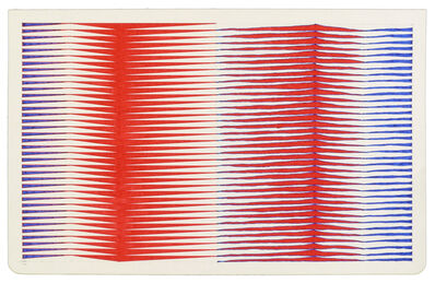 Jessica Deane Rosner, 'Ruled Unruled with Filling', 2014