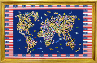 Nelson Leirner, 'Gold Save America', 2008