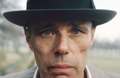 Gerd Ludwig, '#2 - Joseph Beuys, January 26', 1978