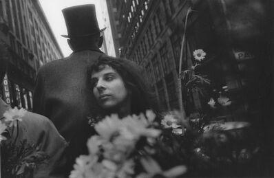 John Cohen, 'Mary Frank in Carriage with Daisy - Pull My Daisy', 1960