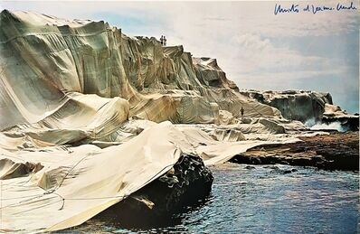 Christo, 'Wrapped Coast - Little Bay Australia (Hand Signed)', 1969