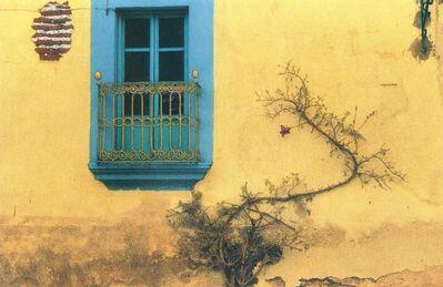 Maria Muller, 'Mexico, Turquoise Door'