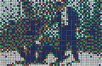 Invader, 'Rubik Mr. Pink and Mr. White', 2007