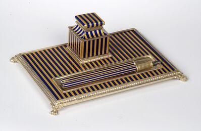 House of Fabergé, 'Writing set. House of Fabergé, workmaster Henrik Wigstrom'