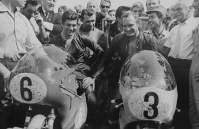 Jesse Alexander, 'Agostini and Hailwood TT', 1967