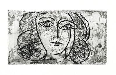 Pablo Picasso, 'Tete de femme de face - Portrait of Francoise Gilot', 1945