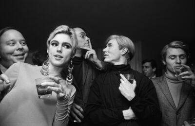 Steve Schapiro, 'Andy Warhol, Edie Sedgwick and Entourage', 1965