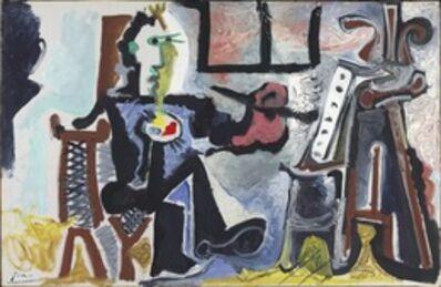 Pablo Picasso, 'The Painter in his Studio (Le Peintre Dans Son Atelier)', 1963