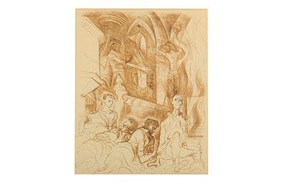 Ronald Searle, 'Sleep of prisoners'