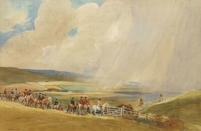Robert Hugh Buxton, 'Rain on the South Downs'