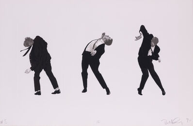 Robert Longo, 'Men in the cities (Plance I)', 1990