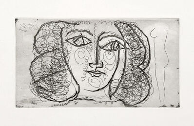 Pablo Picasso, 'Tete de femme de face (Portrait of Francoise Gilot)', 1945