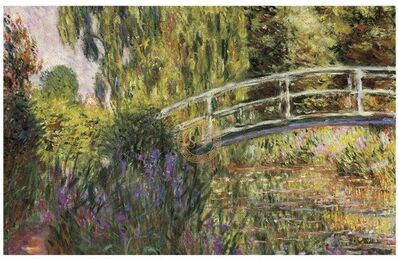 Claude Monet, 'Le Pont Japonais', 20th Century