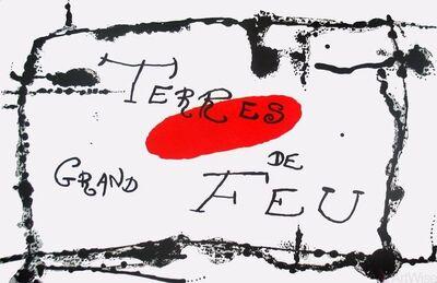 Joan Miró, 'Derriere le Miroir, no. 87-88-89, pg 6,7', 1956