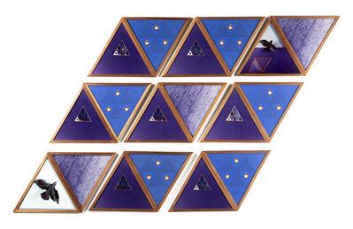 Laura Grisi, 'Uccello con triangolo', 1980