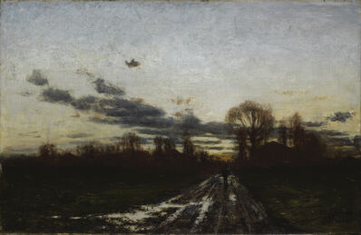"Theodore Clement ""T.C."" Steele, 'Sunrise ', 1886"