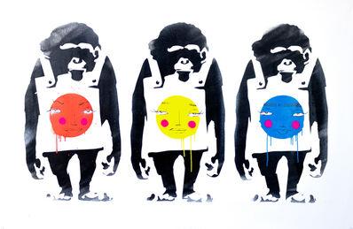 Utopia, 'Monkeys and Bubbles - XL', 2020