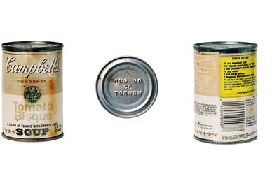 David Gamble, '30yrs The Death of Art inside a Can', 1987