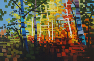 Michelle Condrat, 'The Colors of the Forest', 2015