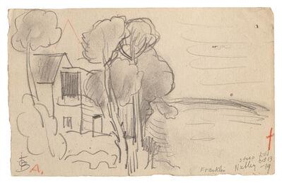 Oscar Bluemner, 'Nutley, New Jersey', 1919