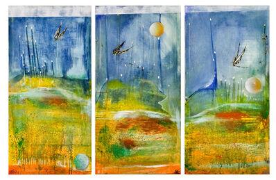 Angelo Martone, 'Le tre lune (triptic)', 2016