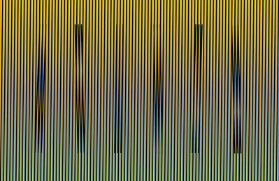 Carlos Cruz-Diez, 'Induction Chromatique Fraven ', 2014