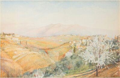 Henry Roderick Newman, 'Tuscany', 1886