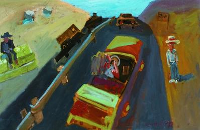 Zhang Yongxu, 'Open Car', 1990