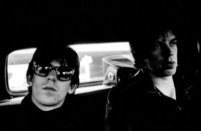 Gered Mankowitz, 'Mick Jagger and Keith Richards Limo.  ', 1965
