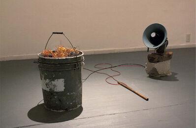 Arturo Hernández Alcázar, '¿Escucharon? Es el ruido de su mundo destruyéndose', 2014
