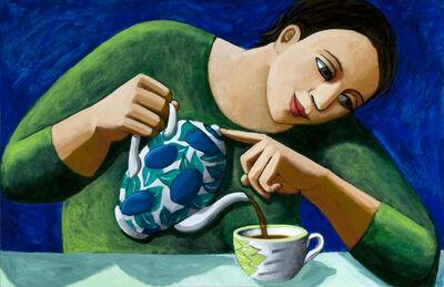 Anita Klein PPRE, 'Pouring Tea', 2019