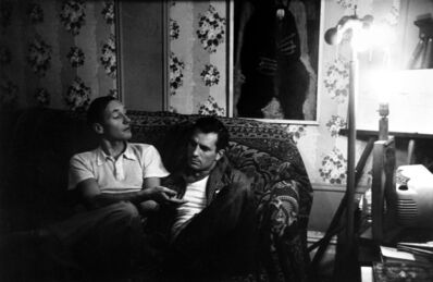Allen Ginsberg, 'William S. Burroughs and Jack Kerouac', 1953