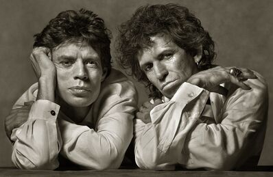 Albert Watson, 'Mick Jagger and Keith Richards', 1989