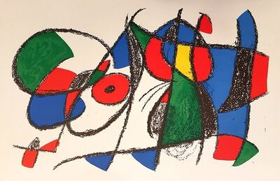 Joan Miró, 'Mirò Lithographe II - Plate VIII', 1975