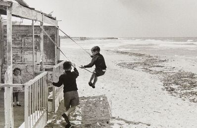 David Hurn, 'Italy, Lecce, playtime at the beach', 1964