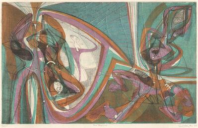 Stanley William Hayter, 'Cinq Personnage 1946 (B/M#168)', 1946