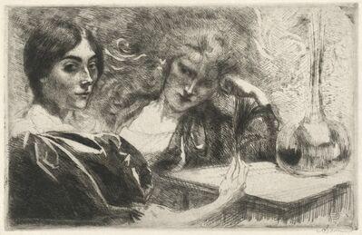 Albert Besnard, 'Morphine Addicts (Morphinomanes)', 1887