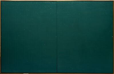 Joan Hernández Pijuan, 'Acotació sobre paisatge verd 0-228', 1978