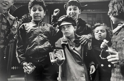 William Klein, 'Baseball Cards, New York', 1955