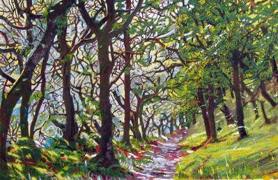 Philippa Beale, 'Badgeworthy Wood (study)', 2020