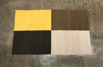 Emi Winter, 'Four Color Rug', 2020