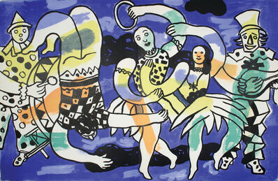 Fernand Léger, 'Le Cirque', 1950