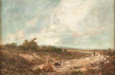 Vittorio Avondo, ' Mountain Landscape', 1870s