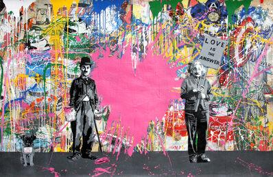Mr. Brainwash, 'Juxtapose', 2017