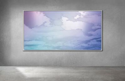 Miya Ando, 'Unkai ( Sea of Clouds) blue lavender pink Bolinas December 5 2020 8:38 AM', 2020