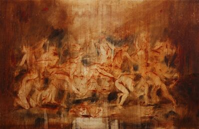 Jake Wood-Evans, 'Study for The Triumph of Pan 2, after Poussin', 2019