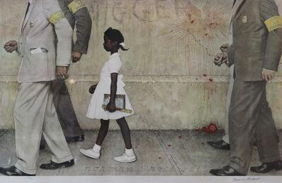 Norman Rockwell, 'The Problem We All Live With (Ruby Bridges)', 1964