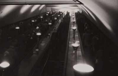 Sergio Larrain, 'Tottenham Court Road, underground station, London, England', 1959