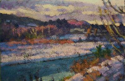 Don Wynn, 'Marsh, Late Winter'